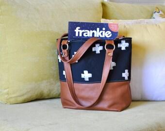 Leather Handbag - Shoulder Tote Bag - Leather bag Accessory - Handmade in Australia