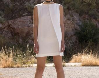 Assymetric Mini Dress