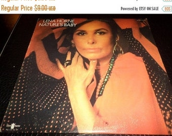 Save 30% Today Vintage 1971 Vinyl LP Record Lena Horne Nature's Baby Excellent Condition 680
