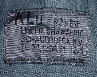 Dutch Army rain (?) NBC (?) trousers 1971; size small