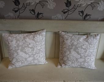 Luxury Handmade Cushion - Countryside Creatures