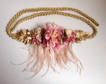 DAHLIA pink belt