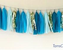 Tissue tassel garland/fringe tassel garland/party decor/wedding decoration/birthday party decor/sweet table buffet decor/tissue paper /party