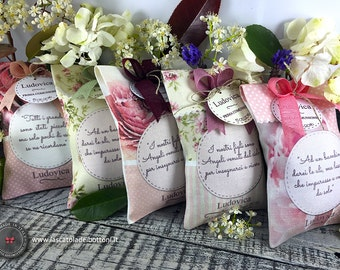 40 pieces - Personalized favors handmade in Italy