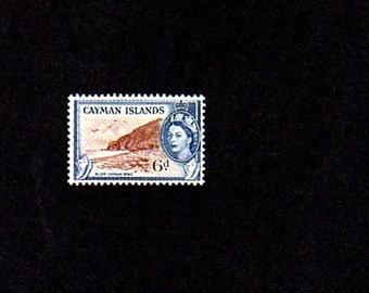 CAYMAN Is - 1954 - QE II - Bluff Cayman Brac # 143 - Mint Single!