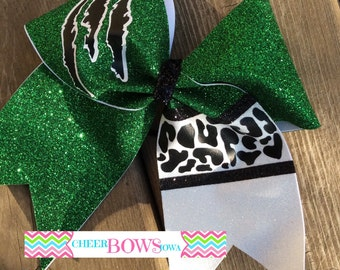 Cheetah Print Bow - Readyto Ship NOW