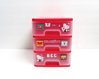 Hello Kitty Three Tier Storage Unit By Sanrio Co. LTD, 1996