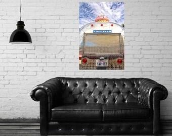 Canvas Gallery Wrap - Cupcake Airstream - Travel Trailer Vendor - Austin, TX - Fine Art Photography