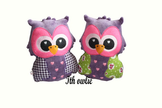embroidery design ith owl