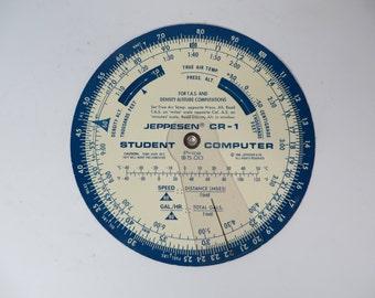 1968 Jeppersen CR-1 Student Computer
