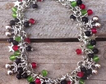 Cherry Bomb Charm Bracelet