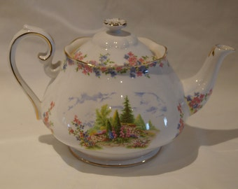 Royal Albert Kentish Rockery Large Teapot