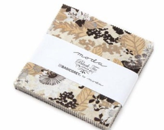 Moda Charm Pack Black Tie Affair Fabric Squares 5 x 5