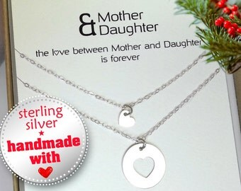 Mother Daughter Necklace. Mother Daughter Jewelry.  Inspirational necklace. Mother Daughter