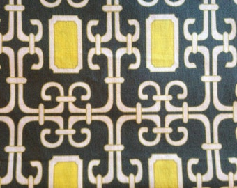 LAUREN by Michael Miller - Fabric - Pastel Pop in Citron & Gray - Geometric - Tiles - Mosaic - Quilting - Sewing - Home Decor