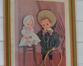 MOZ Vintage WATCH The BIRDIE Wall Hanging Print
