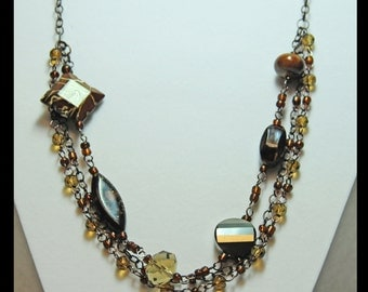 Chocolate Kiss Necklace