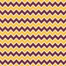 Maroon, yellow gold and white chevron HEAT TRANSFER vinyl sheet zig zag pattern  HTV187