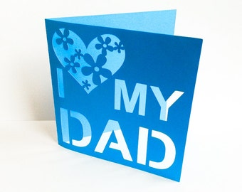 """Wishing card """"father's day"""" (article 75)"""