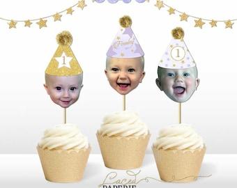 Twinkle Twinkle Stars Cupcake Toppers