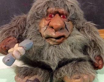 1989 Da Grunt Animated Caveman Toy by Unity Creations, Plush Animated Toys, Da Grunt Toy, Caveman Toys, 1980s Toys, Cavemen Dolls, DaGrunt