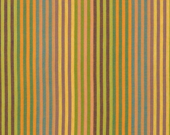 Caterpillar Stripe Woven Sunshine by Kaffe Fassett Sold in 1/2 yd increments