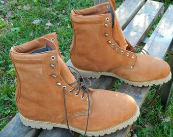 1990's Carolina Insulated Work Boots / Stock # 3064 / ANSI Certified Safety Toe / Made in U.S.A. / US Men: 15 EE / Deadstock Condition