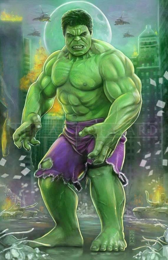 The Hulk, Aftermath 11X17 print