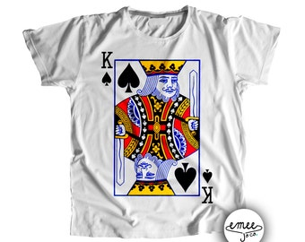 King of Spades, Playing Card Costume, Infant Halloween Costume, Baby Costume, Toddler Costume, Playing Card Shirt