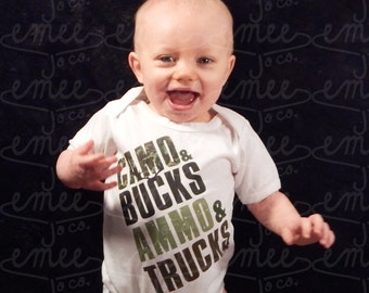 Baby Clothes, Funny Baby Clothes, Hunting Baby Boy, Hunting Baby Clothes, Camo Baby Clothes, Army Baby Boy Clothes, Camo Baby Boy Gift,