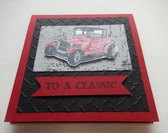 Classic Model T Father's Day Card