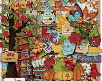 Fall Pickings Digital Scrapbook Kit
