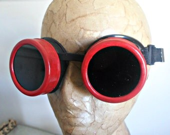 Cherry Goggles - Welding Goggles, Cosplay Goggles, Costume Goggles