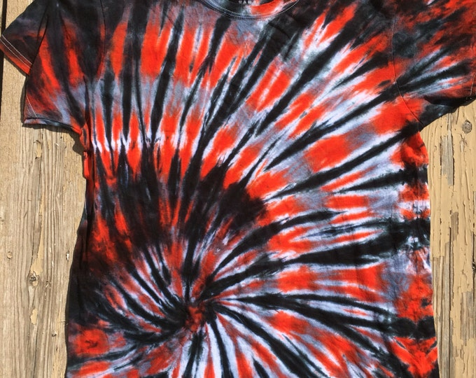 Custom adult tie-dyed T-shirt