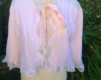 Vintage Negligee Dressing Gown