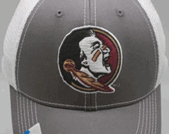 "Florida State University ""Grey Ghost"" Cap C@@L New Color Adjustable Baseball Cap Hat NCAA"