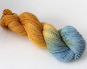 Nowhere near perfect, Hand dyed BFL Sock 4-ply, 75/25 sw BFL/nylon