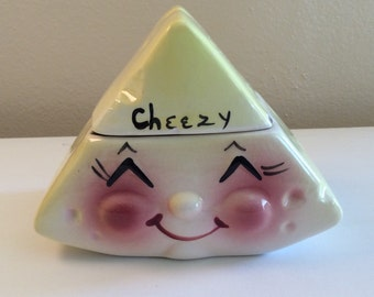 "Vintage ""Cheezy"" Wedge Condiment Dish No Spoon"