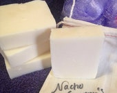 Nacho Granny's Lard Soap cold process handmade lard soap, handcut bars