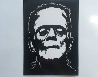 Boris Karloff as Frankenstein's Monster decal