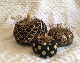 Fabric Pumpkins, B&G 3