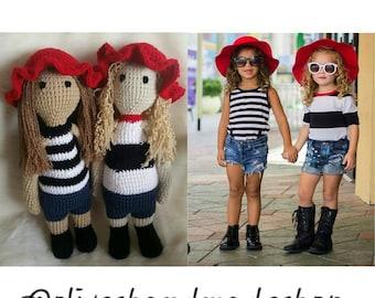 Detailed Custom Doll, Crochet Custom Doll, Custom Doll, Look A Like Doll, Crochet Doll, Crochet Toy, Custom, Look Like Me Doll