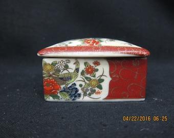 Miyako Porcelain Trinket Box