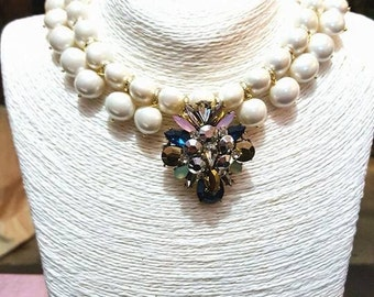 Turn Pearl collar
