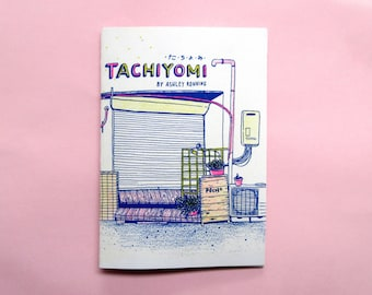 Tachiyomi - a zine of drawings from my trip to Tokyo