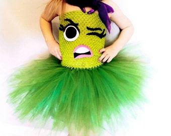 Disgust inspired tutu dress