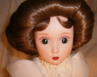 Vintage Danbury Mint Brides Of America Porcelain Doll - Catherine