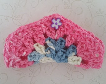Ear Bud Headphone CORD TACO crocheted set of 3 for any earphone or cords