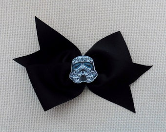 Star Wars Sugar Skull Storm Trooper Bow