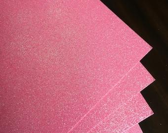 Pink Glitter card stock - pink, 12x12, glitter paper, glitter cardstock